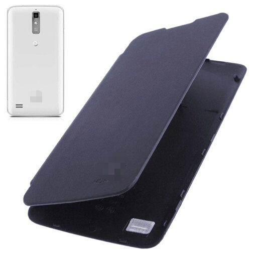 Flip Back Cover / Replacement Leather Case for Huawei Ascend G710 / A199 (Navy Blue)