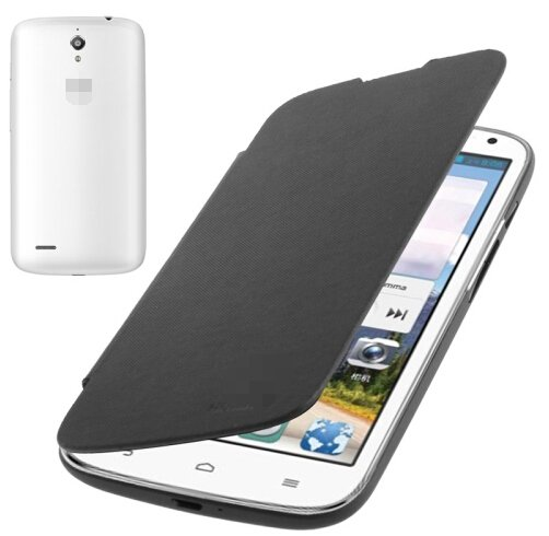 Flip Back Cover / Replacement Leather Case for Huawei Ascend G610 (Black)