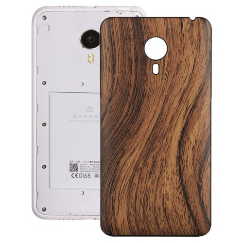 Wood Grain Back Cover Replacement for Meizu MX 4(Yellow)