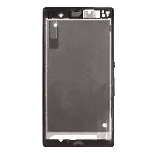 Front Housing LCD Frame Bezel Plate Replacement for Sony Xperia Z / L36h / C6602 / C6603
