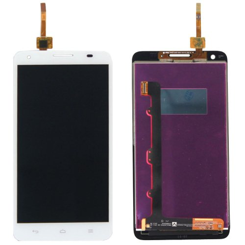 LCD Screen + Touch Screen Digitizer Assembly for Huawei Honor 3X / G750(White)