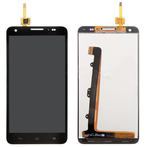 LCD Screen + Touch Screen Digitizer Assembly for Huawei Honor 3X / G750(Black)