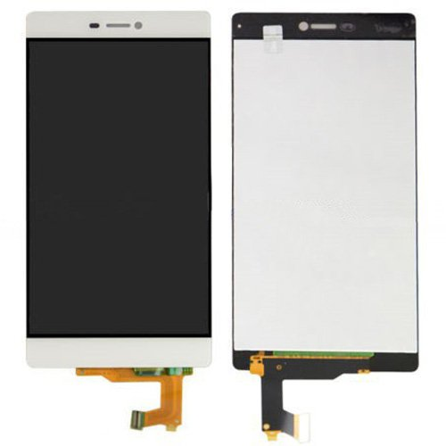 LCD Screen + Touch Screen Digitizer Assembly for Huawei P8(White)