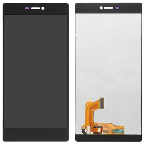LCD Screen + Touch Screen Digitizer Assembly for Huawei P8(Black)