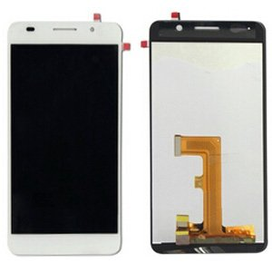 LCD Screen + Touch Screen Digitizer Assembly for Huawei Honor 6(White)