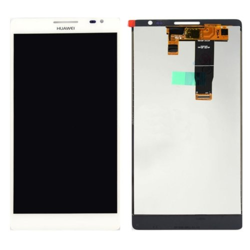 LCD Screen + Touch Screen Digitizer Assembly for Huawei Ascend Mate 1(White)