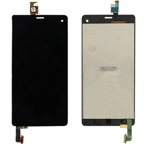 LCD Screen + Touch Screen Digitizer Assembly for ZTE Nubia Z7 mini / NX507J(Black)