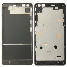 Front Housing LCD Frame Bezel Plate Replacement for Microsoft Lumia 535
