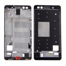 Front Housing LCD Frame Bezel Plate Replacement for Huawei Honor 7(Black)