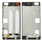 Front Housing LCD Frame Bezel Plate Replacement for Huawei P8(Black)