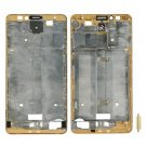 Front Housing LCD Frame Bezel Plate Replacement for Huawei Ascend Mate 7(Gold)