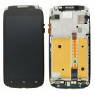 LCD Screen + Touch Screen Digitizer Assembly with Frame for HTC One S (US Version)(Black)