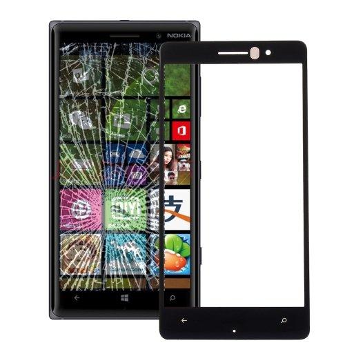 Nokia Lumia 830 Front Screen Outer Glass Lens(Black)