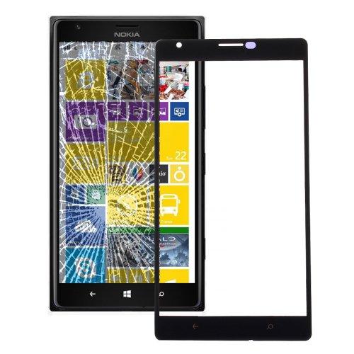 Nokia Lumia 1520 Front Screen Outer Glass Lens(Black)