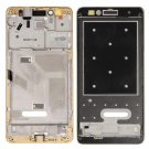 Huawei Honor 5X Front Housing LCD Frame Bezel Plate(Gold)