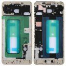 Front Housing LCD Frame Bezel for Galaxy C7(Gold)
