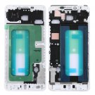 Front Housing LCD Frame Bezel for Galaxy C7(White)