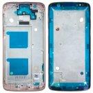 Front Housing LCD Frame Bezel for Motorola Moto G6 (Rose Gold)