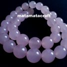 """1 strand 15"""" or 380mm pink crystal beads, 12mm 1/2"""" for jewellery making"""