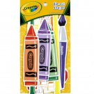 Colorbok Crayola Crayon Marker Scissors Paint Brush Pencil Die Cut Shapes