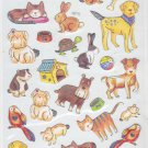 Colorbok Limited Edition Stickerdoodles Pets 48 Bling Foil Stickers