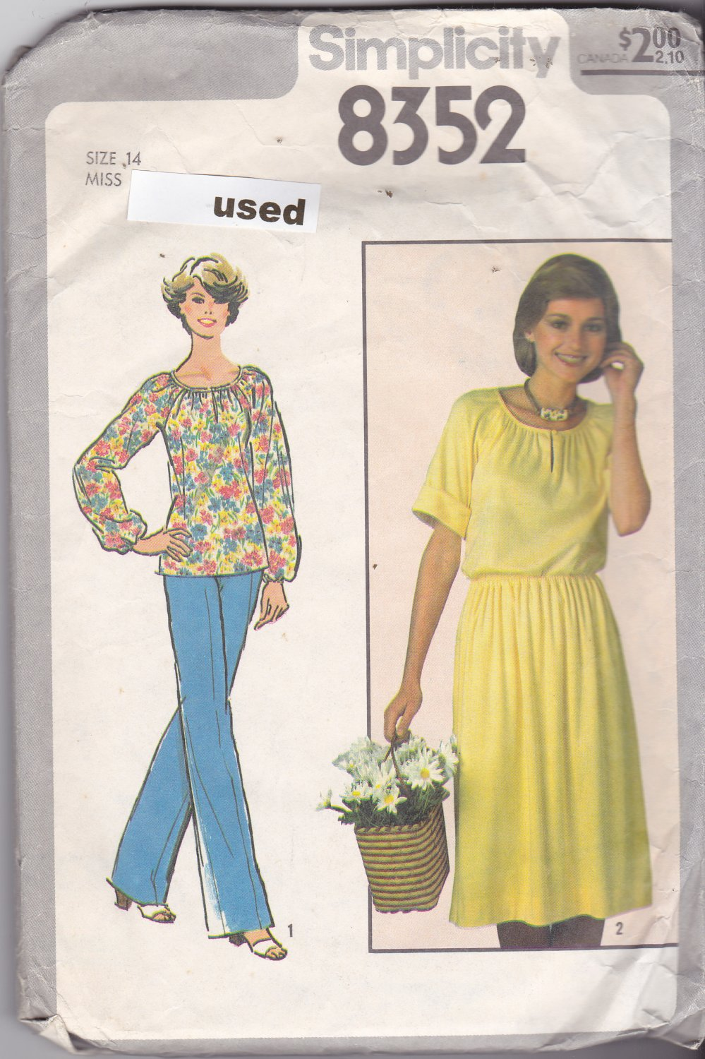 Simplicity 8352 size 14, may be missing pieces