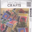 McCall's Crafts Pattern M4545 Lodge Rag Quilt and Pillows Jennifer Lokey Uncut FF 4545