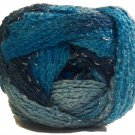 Sashay Yarn Red Heart 3.5 oz Jive 1940 Super Bulky 6 Ruffle Scarf Yarn Turquoise Blue Green Teal