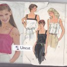 Vogue 7607 Pattern Uncut FF 14 Hip Length Camisole Pin Tucks Buttons
