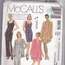 McCall's 9678 Pattern Uncut 22w 24w 26w 40 42 44 Plus Sleeveless Dress Jacket