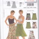 Burda 8215 Pattern Uncut FF 10 12 14 16 18 20 22 plus Fit & Flare Skirt Easy