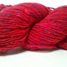 Tahki Windsor Tweeds Wool Yarn 3.5 oz. (100 g) Shade 937 Bright Red with Flecks
