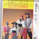 McCall MP414 Pattern Uncut FF Girls Boys size 3 4 5 6 7 8 Pirate Costume