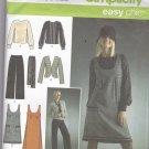 Simplicity 4097 Pattern Uncut FF size 12 14 16 18 20 plus Jumper Blouse Jacket Pants Separates