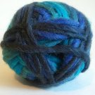 Northland Cavern Acrylic Wool Blend Yarn 3.5 oz Glacier Variegated Blue Navy Teal Super Bulky 6
