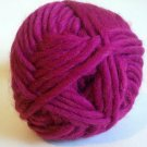 Northland Cavern Acrylic Wool Blend Yarn 3.5 oz Magenta Super Bulky 6