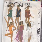 McCall's 7350 Pattern 14 bust 36 Uncut Bodysuit Leotard for Skating Dancing Gymnastics