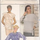 Butterick 6693 Pattern 12 14 16 bust 34 36 38 Uncut Wrap Pullover Top Tie Front