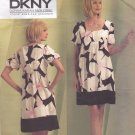 Vogue 1103 Pattern Uncut Size 8 10 12 14 DKNY A-Line Loose Fit Dress Slip Babydoll