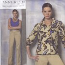 Vogue 1167 Pattern Uncut 8 10 12 14 Anne Klein Lined Above Hip Jacket Top Pants