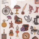 Graphworks Mini Motif Designs Attic Antiques leaflet 19 Counted Cross Stitch