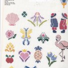 Graphworks Mini Motif Designs Stencil Stitch leaflet 31 Counted Cross Stitch