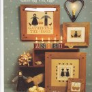 The Amish Gathering the Eggs booklet Counted Cross Stitch Homespun Elegance