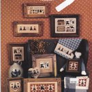 The Amish V Miniatures booklet Counted Cross Stitch Homespun Elegance