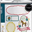 American Crafts 8 Page Remarks Sticker Book Journaling Surprise! Birthday Theme