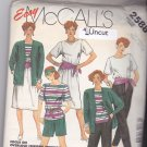 McCall's 2588 Pattern Uncut XS 6 8 Bust 30.5 31.5 Jacket Skirt Pants Top Shorts for Knits