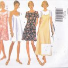 Butterick 3493 Pattern 6 8 10 12 Uncut Loose Fit A-Line Pullover Dress