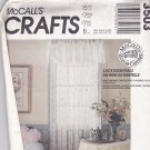 McCall's 3503 Pattern Uncut Lace Essentials Curtains Tablecloth Placemat Pillow Baby Quilt