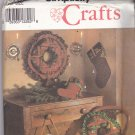 Simplicity Crafts 8159 Pattern Uncut Christmas Holiday Home Decor Shirley Botsford