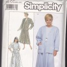 Simplicity 9256 Pattern M L XL XXL Plus Uncut Pull On Full Skirt Top Cardigan Jacket for Knits